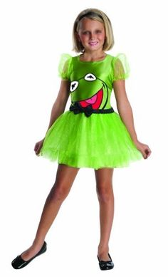 The Muppets Kermit The Frog Girls Costume Rubie's Costume Co. $19.99