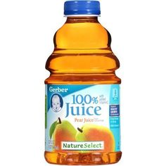 Infant constipation: You can give them infant pear or apple juice to help (not very much, less than 5 oz and mixed 50/50 with water)