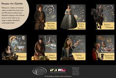 Browse the Exhibit - Welcome to the Artifacts of Outlanter online, an exhibit that shows how real 18th-century artifacts from Maryland compare to the Outlander series on Starz. Click on any image to explore Maryland's archaeological finds.