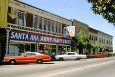 Santa Ana Army -Navy Store circa 1968