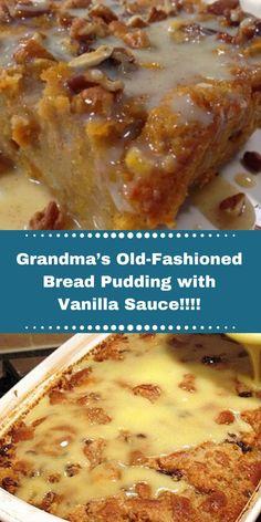 Banana Pudding Cheesecake, Pudding Desserts, Cheesecake Bars, Pudding Cake, Cheesecake Recipes, Biscuit Pudding, Old Fashion Bread Pudding Recipe, Bread Oudding Recipe, Best Bread Pudding Recipe With Vanilla Sauce