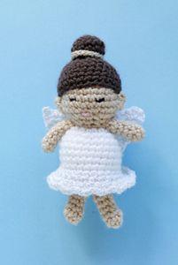 Cindy the Angel :: Free #Crochet Angel Patterns