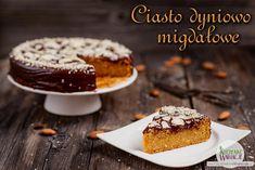 Wegańskie bezglutenowe ciasto dyniowo migdałowe | Bezglutenowe Kuchenne Wariacje