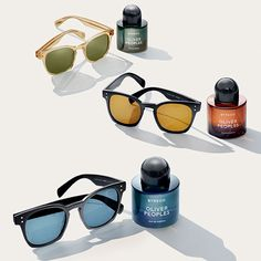 Byredo Oliver Peoples Eau de Parfum and Oliver Peoples for Byredo Sunglasses #bnybeauty