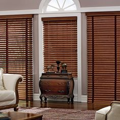 Traditions wood shutter blinds- From Made In The Shade Blinds