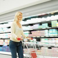 Tips for healthy grocery store shopping. #healthyeating