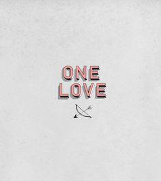 "Сat food. ""ONE LOVE"" by Polina Bogdanova, via Behance"