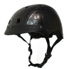 Crocodile Black Helmet