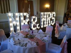 Marquee letter lights #lightupletters - GIANT Light up Letters Hire
