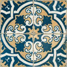 Matt Imbue Vintage Pattern Ceramic Floor Tiles - 1SQM - (L) 450 (W) 450 - 24735 Bathroom Flooring, Wall Tiles, Kids Rugs, Home Decor, Room Tiles, Homemade Home Decor, Interior Design, Decoration Home, Home Interiors