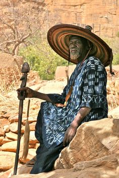 The Village Chief . Dogon Country