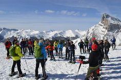 Cantur patrocina una ruta en raquetas por Picos de Europa para empresarios del sector turístico - CANTUR – Sociedad Regional Cántabra de Promoción Turística - Cantabria