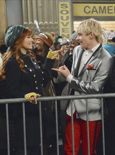 Austin and Jessie from the Austin Jessie and ally episode