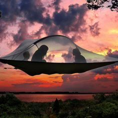 The Tentsile Stingray is a three person tree tent (a.k.a. portable treehouse) that offers users a uniquely communal and comfortable outdoor experience away from inhospitable ground, ground based insects, snakes or other predators. The Stingray com...