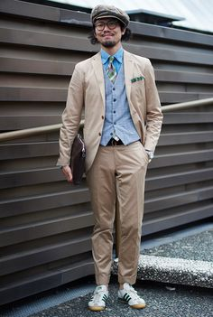 Suits and Sneakers at Pitti Uomo 2015