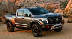 Nissan Titan Warrior Concept truck - like it in a futuristic military style sort of way