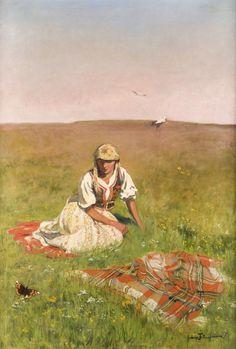 Jadwiga Tetmajer-Naimska (Polish,1891 - 1975)