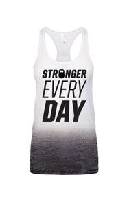 Stronger Every Day Burnout Tank