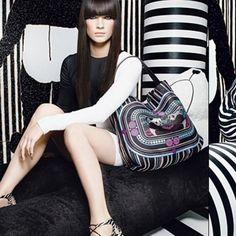 "Spotted while shopping on Poshmark: ""HP!  Jimmy Choo Limited Addition Panda Bag""! #poshmark #fashion #shopping #style #Jimmy Choo #Handbags"