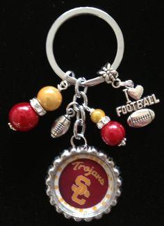 """USC Trojans"" key chain $18 FREE SHIPPING"