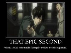 Can't wait for it to happen! (have yet to watch anime)  Epic Matsuda by ~Subarashiify on deviantART