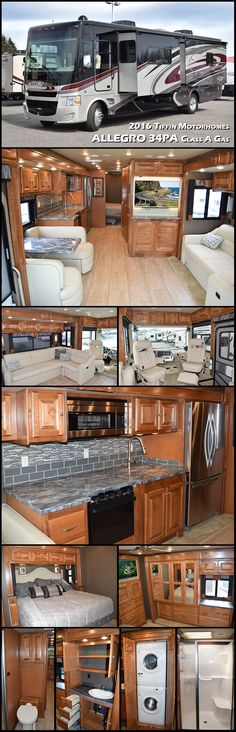 Thor Challenger 38 Foot Luxury Class A Motorhomes With