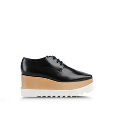 STELLA MCCARTNEY 'Britt' Lace-Up Platform Shoes