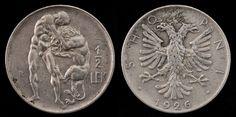 Albania - 1/2 leks, 1926.