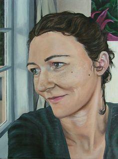 Self portrait 2011  Oil on canvas