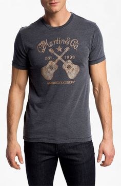 Lucky Brand 'Martin Guitars' T-Shirt available at #Nordstrom