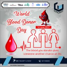 Donate blood & give the gift of life. #TheGalaxyGroup #WorldBloodDonorDay #DonateBlood #SaveLife