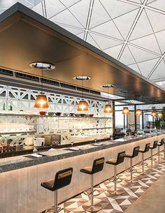 Lounge Review: Qantas Hong Kong Lounge review first business class - Australian Business Traveller