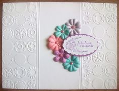 Split Embossing with Cuttlebug