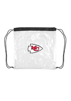 Kansas City Chiefs Stadium Approved String Bag http://www.rallyhouse.com/shop/kansas-city-chiefs-2210158 $11.99