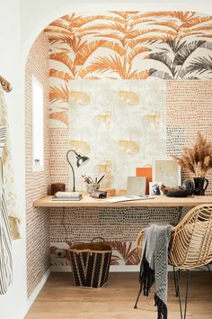 Deco Originale, Meraki, Clawfoot Bathtub, Living Spaces, Exotic, Interior Decorating, Lounge, Curtains, Wallpaper