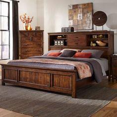 Intercon Furniture Intercon Wolf Creek Queen Bookcase Bed | master bedroom | bedroom decor | bedroom inspiration | home decor | #ad
