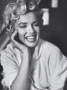 "Marilyn Monroe. I just saw ""My Week With Marilyn""... and I have a newfound respect for her. She was so sad, but so beautiful."