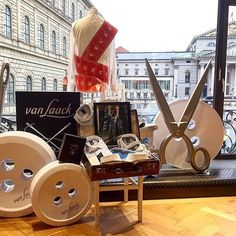 """VAN LAACK, Munich, Germany, """"For more than 130 years the Van Laack shirt has set standards embodying premium quality and impeccable workmanship"""",   pinned by Ton van der Veer"""
