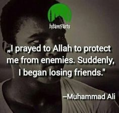 Truth. Amazing Muslim role model. Muhammad Ali.