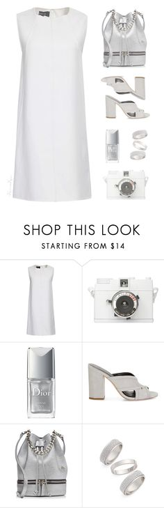 """Breathless White"" by nonniekiss ❤ liked on Polyvore featuring Christian Dior, Rebecca Minkoff, MANU Atelier and Topshop"