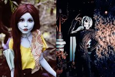 Jack and Sally Halloween 2015, Holidays Halloween, Halloween Decorations, Halloween Party, Halloween Costumes, Halloween Queen, Epic Cosplay, Cosplay Costumes, Sally Nightmare Before Christmas