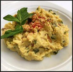mezederyası: Sicilyano Greek Meze, Appetizer Recipes, Appetizers, Starters, Cauliflower, Mashed Potatoes, Protein, Food And Drink, Salad