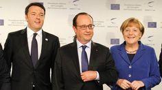 Brexit : un sommet Renzi-Hollande-Merkel à la fin d'août à Ventotene