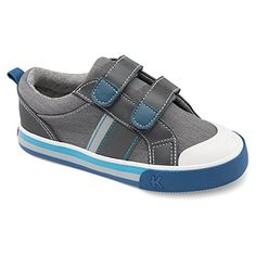 See Kai Run Tripp Sneaker (Toddler/Little Kid), Gray, 9.5 M US Toddler - http://all-shoes-online.com/see-kai-run/see-kai-run-russell-sneaker-toddler-little-kid-10