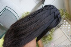 waterfall braid with smaller braid