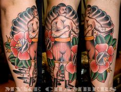 Boxer tattoo myke chambers web by Myke Chambers Tattoos,