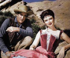 Gunsmoke, Marshal Dillon and Miss Kitty.