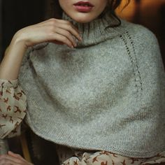 Noelle Capelet by Martin Storey for Rowan yarns.