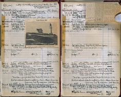 "workman: "" myimaginarybrooklyn: anaarp: Edward Hopper's sketchbook "" Edward Hopper, Artist Journal, Artist Sketchbook, Sketchbook Inspiration, Journal Inspiration, Sketchbook Ideas, Journal Ideas, Word Art, Journaling"