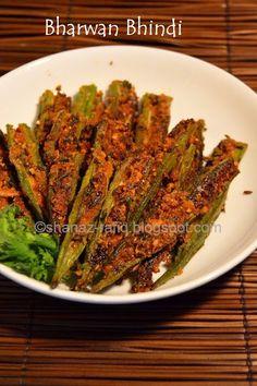 Stuffed Ladies Finger, Bharwan Bhindi Recipe